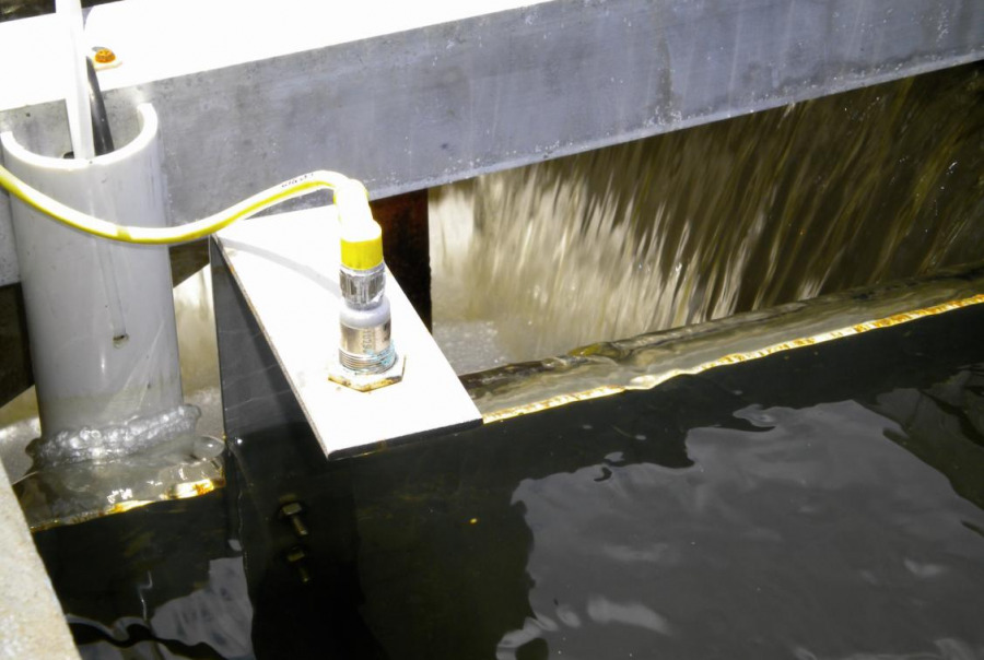 DynaSensor sand and water verification system included with a DynaSand upgrade