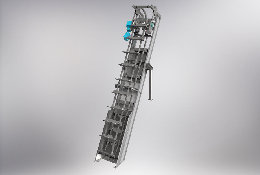 Aqua Caiman™ In-Channel Articulating Rake Screen