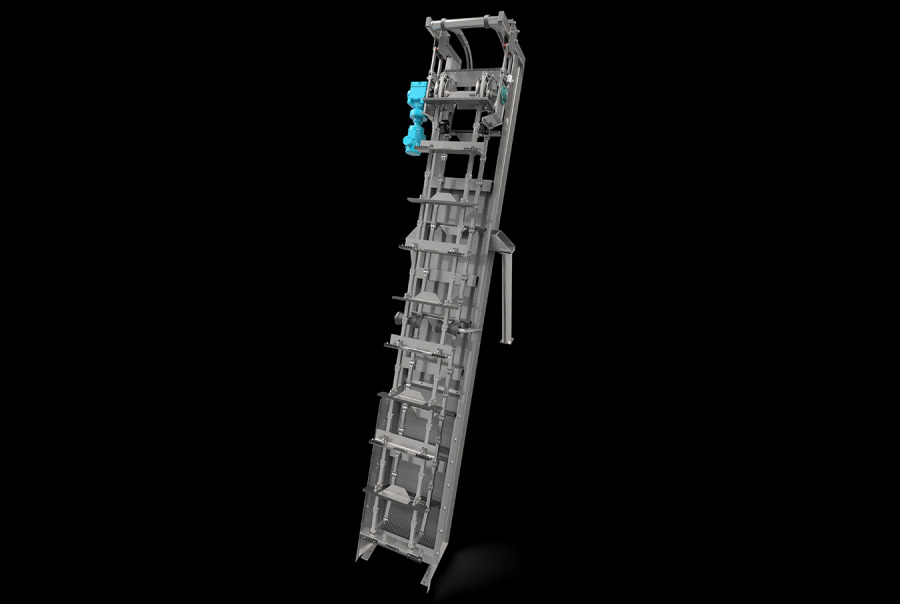 Aqua Caiman™ Articulating Rake Screen w/ Improved Frame Design