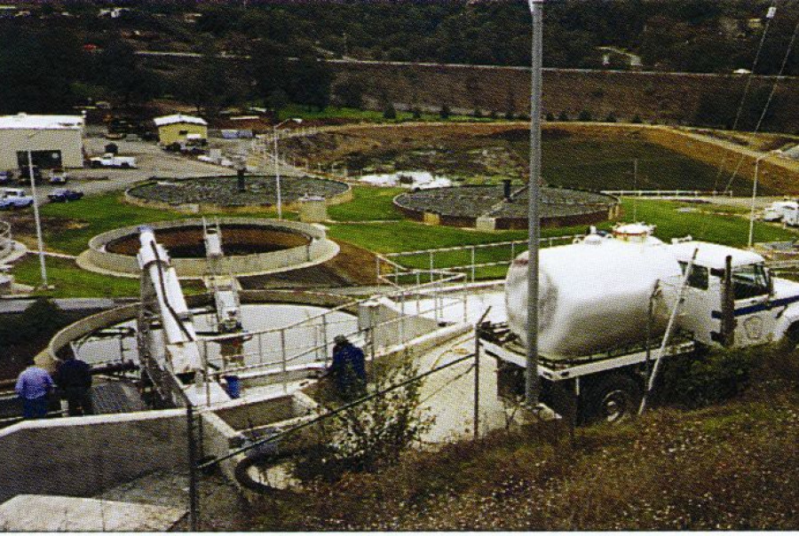 Combi® Package Wastewater Headworks System & Septage Receiving Station