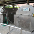 Rotomesh® PF Perforated Plate Rotary Drum Screen at industrial installation